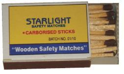 Wooden Safety Matches in  J.P. Road-Andheri (W)