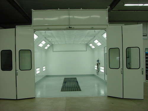 Used Car Paint Booth For Sale In India
