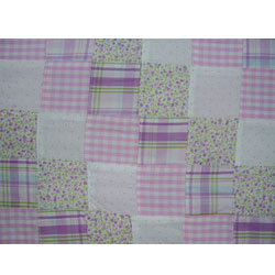 Lilac Patchwork Fabric