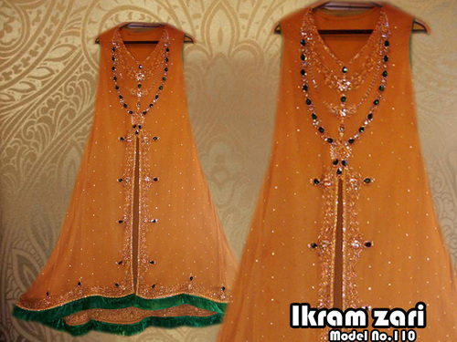 Ladies suits with handmade stone work in shop no 142 bano for Bano bazar faisalabad