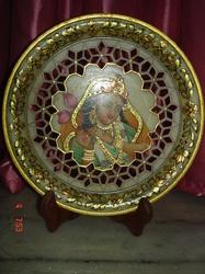 Marble Plates (Jali Work)