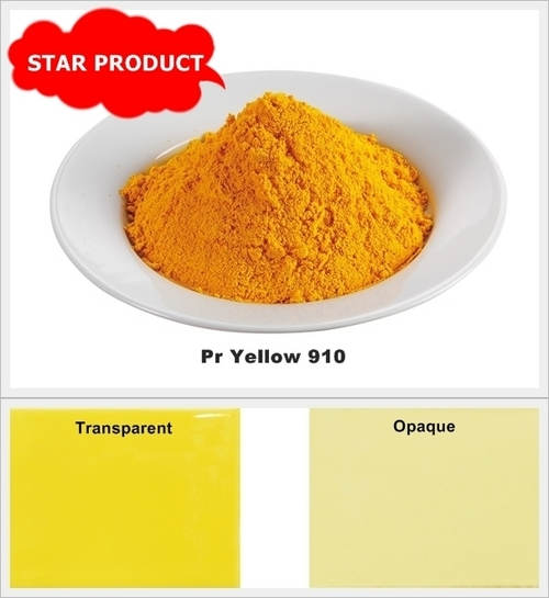 High Temperature PR Yellow Stain