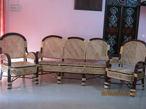 Cane Sofa Set In Sirkali Taluk Sirkali SARA CANE FURNITURE