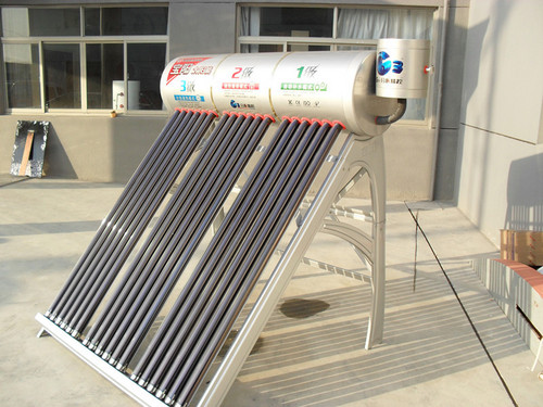 New-Style Non-Pressurized Solar Water Heater With Three Inner Tanks