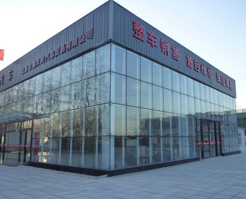 Building Glass Curtain Wall In Zhengbian Rd Zhengzhou