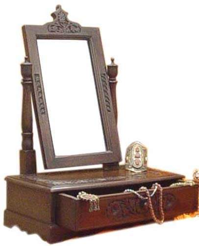 Sheesham Wood Dressing Table with Mirror