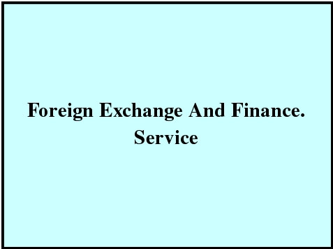 Foreign Exchange And Finance Service