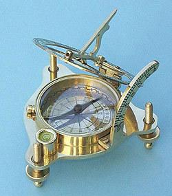 Brass Sundial Compass in   Dehradun Road