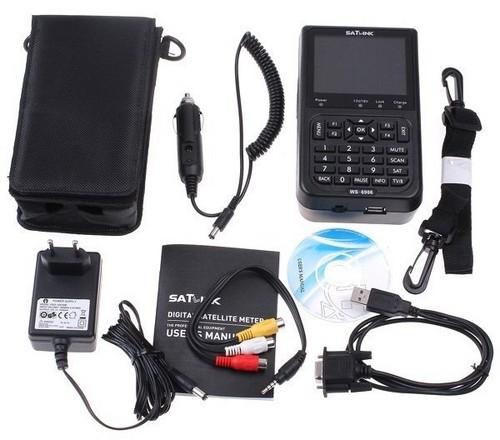 Digital LCD Satellite Finder Meter DVB-S SatLink WS-6906