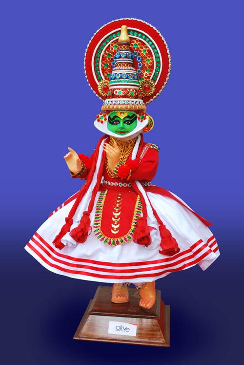 Kathakali Doll (29 Inch)