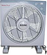 Solar Ac/ Dc Rechargeable Fans