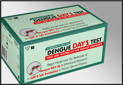 Dengue Day 1 Test in  Okhla - I