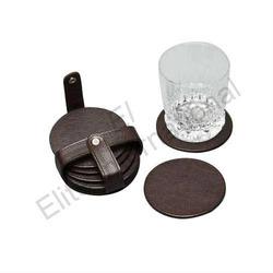 Leather Tea Coasters