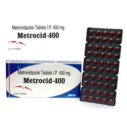 Metronidazole Tablets I.P. 400 -Metrocid