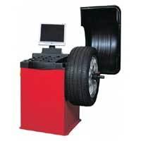 Computerized Automatic Wheel Balancer