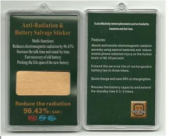 Anti Radiation Nano Sticker