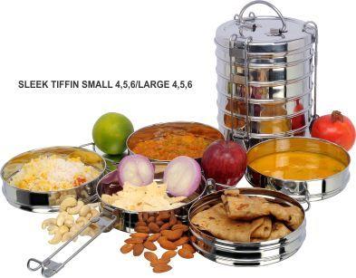 Sleek Food Tiffins