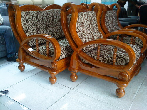 Wooden sofa sets in new area bhopal aman furniture