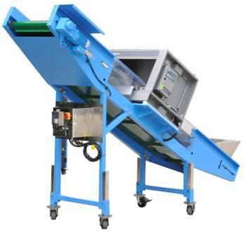 Metal Detector Belt Conveyor