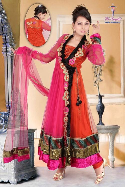 Jacket Anarkali Suit in  Dadar (W)