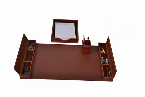 Delightful Leather Office Desk Set In Vijay Enclave