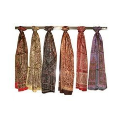 Polyester Printed Stoles in  Khatodra