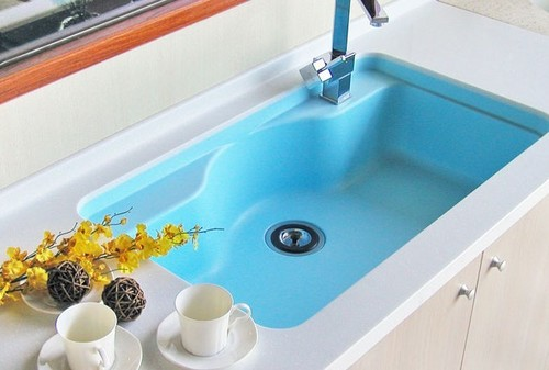 Sink kitchen solid surface in foshan guangdong foshan for Solid surface kitchen sink