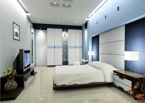 Bedroom interior design service in pratap nagar jodhpur for Master bedroom interior design images