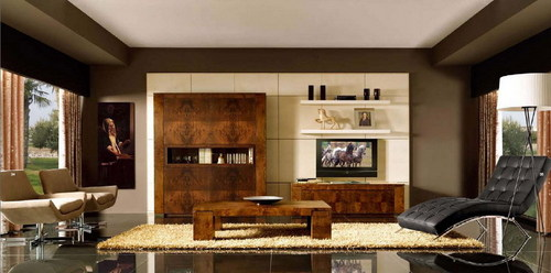Grand Living Room Interior Design Service Country India
