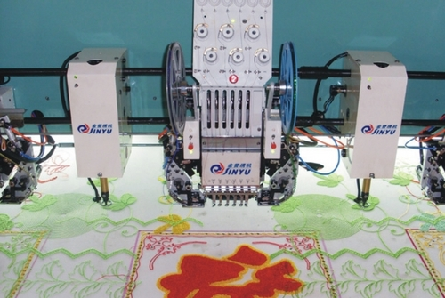 chenille embroidery machine used chenille embroidery machine in zhuji zhejiang zhuji 17454 | chenille embroidery machine 423