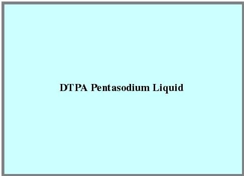 Dtpa Pentasodium Liquid