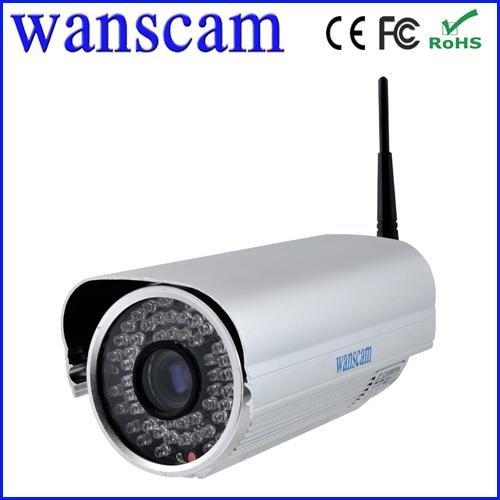 50M IR Night Vision Wifi 3G Phone View IP Bullet Camera