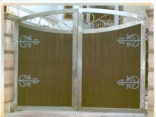 Ss design main gate in chattarpur new delhi manufacturer for Latest main gate designs