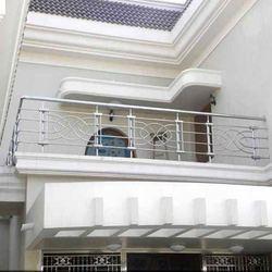 Stainless steel balcony grills in near lingam nagar - Box grill designs balcony ...