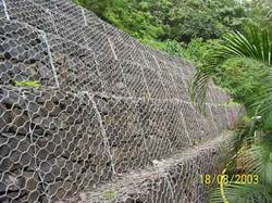 Gabion Wall in   Post Box No.- 38