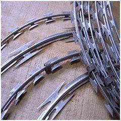 Razor Wires in   Post Box No.- 38