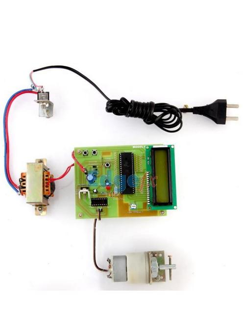 Speed Control Unit Designed for a DC Motor - Engineering Projects