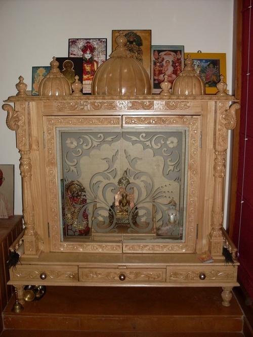 Design Handicraft Pooja Temple In Kareli Baugh Vdr