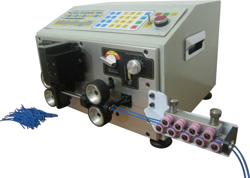 automatic wire cutting stripping machine