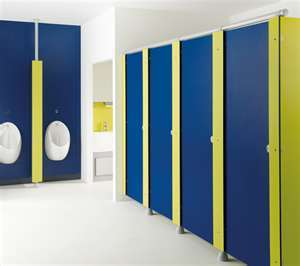 Modular Toilet Partitions