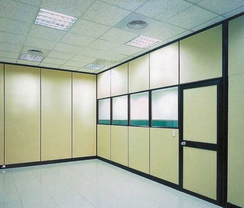 Office High Partition Wall In Aluminium Profile In