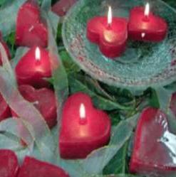 Heart Shape Candle