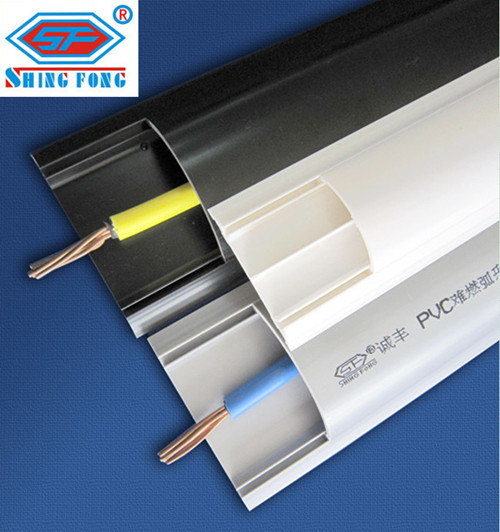 Arc floor pvc trunking wire duct in dongcheng district