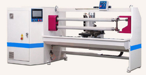 Double Shaft Double Sided Tape Cutting Machine
