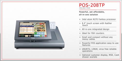 Micro Pos System (Pos-208tp) in  Koramangla