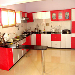 Modern modular kitchen furniture in sanganoor coimbatore for Kitchen sunmica design