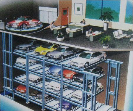 Square Car Parking System
