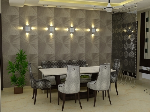 Other Products You May Like Previous Lobby Design Services Signages Garment Showroom Decoration Dining Room