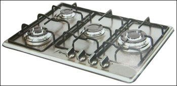 5 Burner And Auto Electric Gas Hobs With Micro Decor Finish