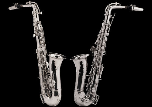 Alto Saxophone (Silvered)